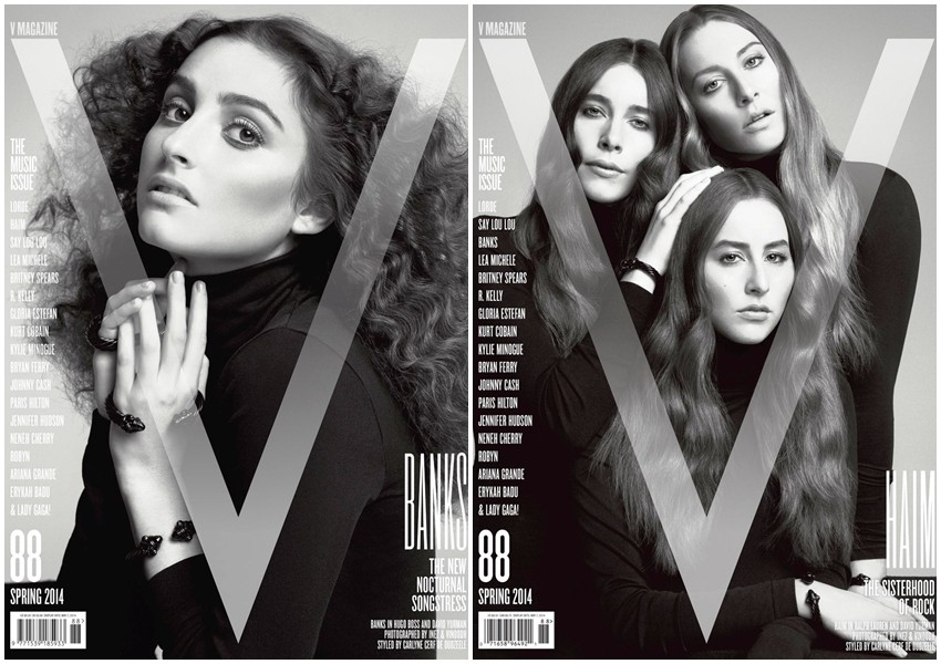 Lorde i sestre Haim krase naslovnice V magazina!