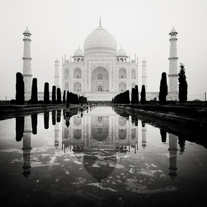 Crno-bijeli pejzaži rad su slavnog austrijskog fotografa Josefa Hoflehnera