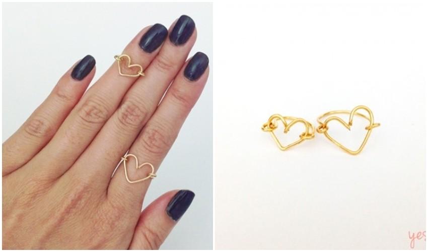 U nekoliko sekundi napravite presladak prsten od žice!