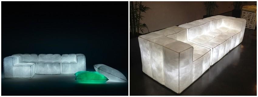 Predstavljamo vam sofu koja svijetli u mraku