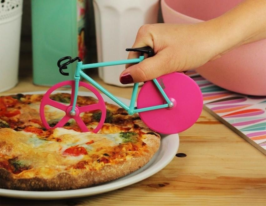 Režite pizzu DOIY biciklom