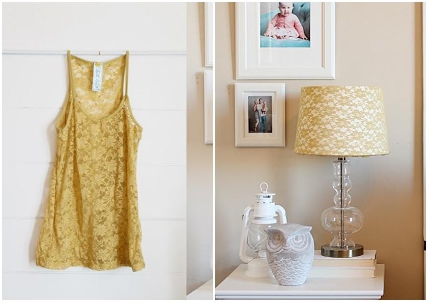DIY: Napravite sjenilo za lampu od stare majice!
