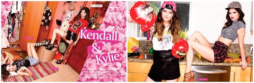 Steve Madden predstavio kolekciju cipela na Kendall i Kylie Jenner!