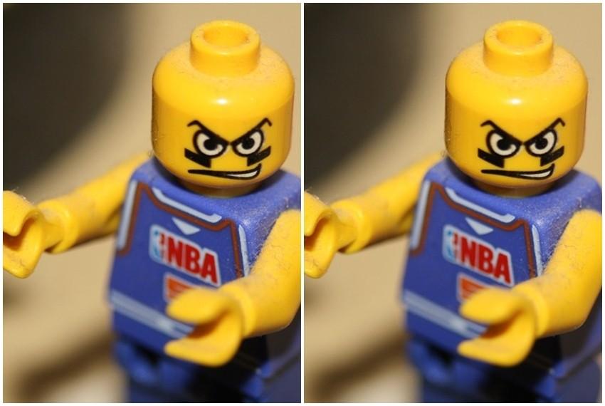 NBA košarkaške Lego figurice