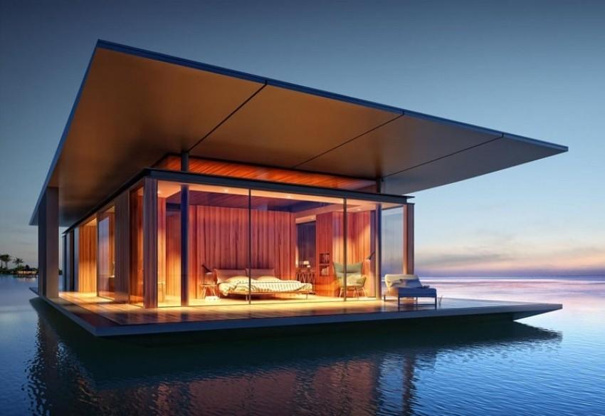Suvremena kuća na vodi oduzet će vam dah