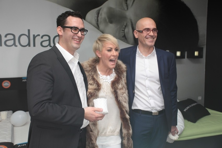 Indira Vladić s Dejanom Grbićem i Ante Grbešom iz Studia Moderna