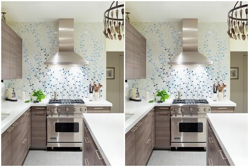 Wallpaperi u kuhinji  su trend u uređenju interijera