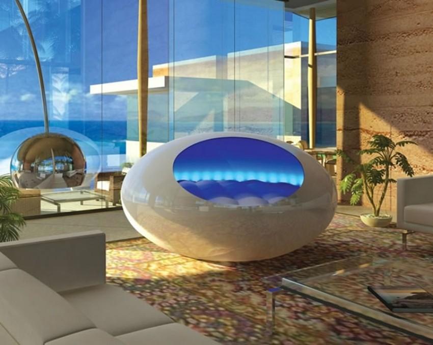 Futuristički krevet za miran san