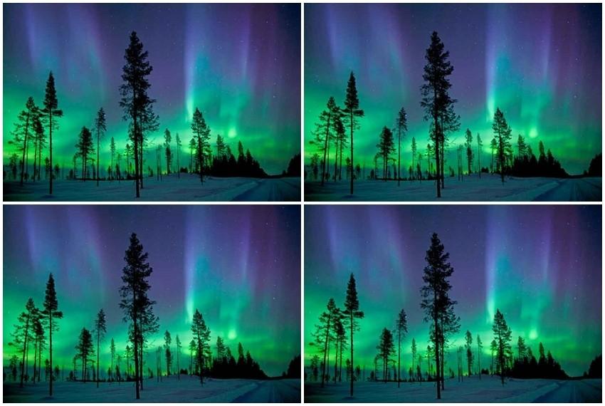 Aurora Borealis, Švedska