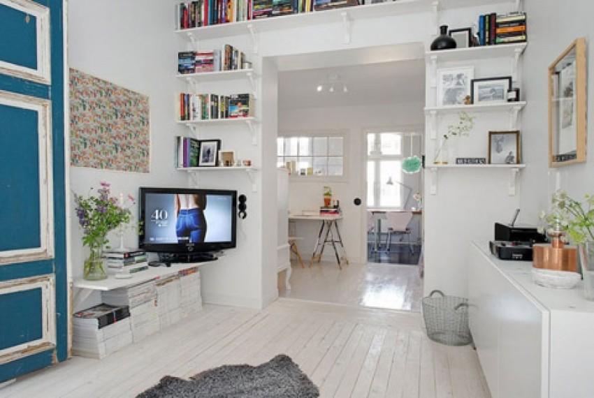 Mali skandinavski stan prekrasan je dom jedne švedske stilistice