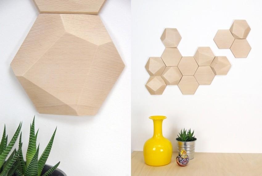 Drvene pločice za zidove Monoculo Design Studia