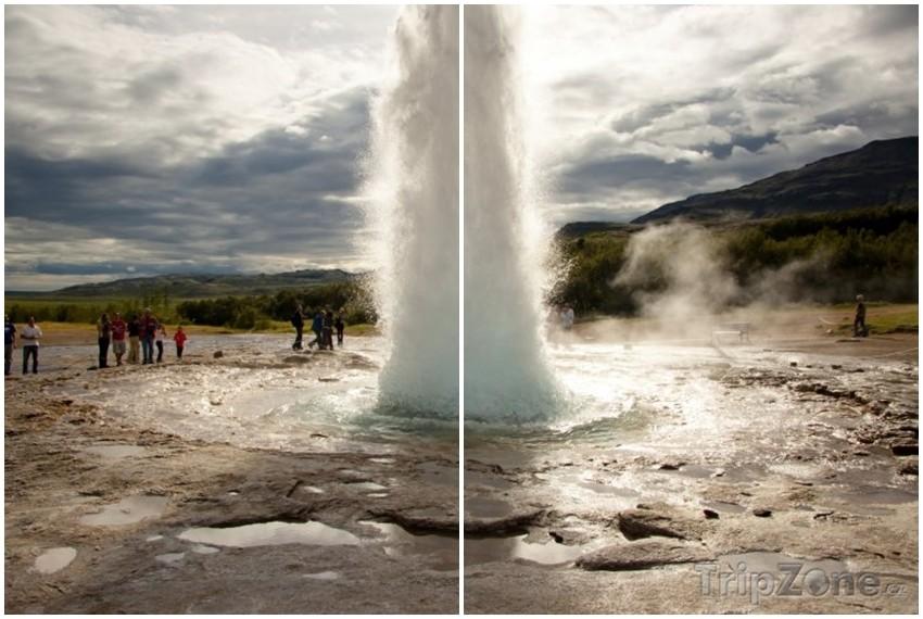 Strokkur gejzir, Island