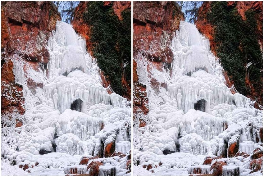 Nideck, vodopad, Francuska
