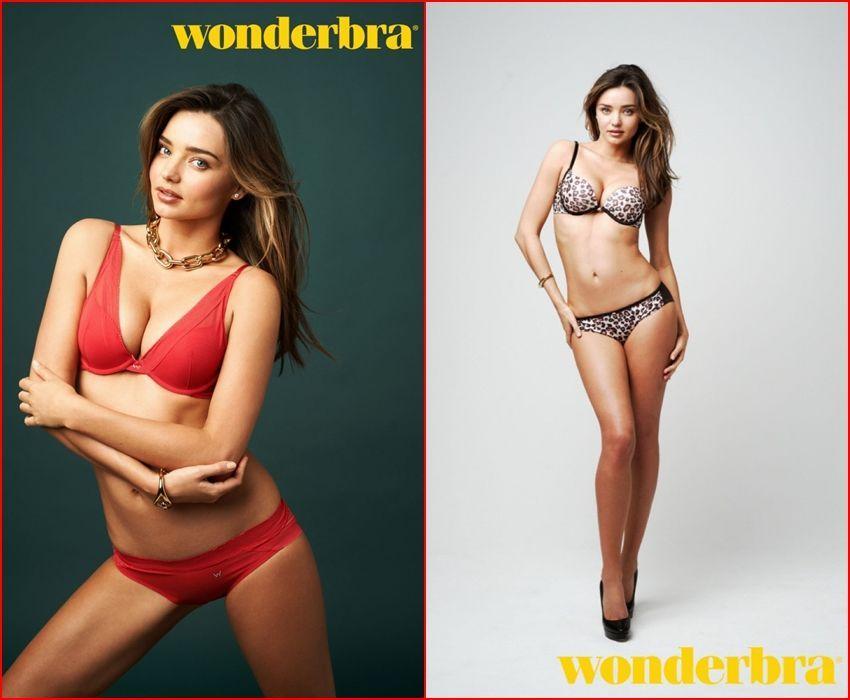 Wonderbra ima novo lice - bivšu anđelicu Mirandu Kerr!