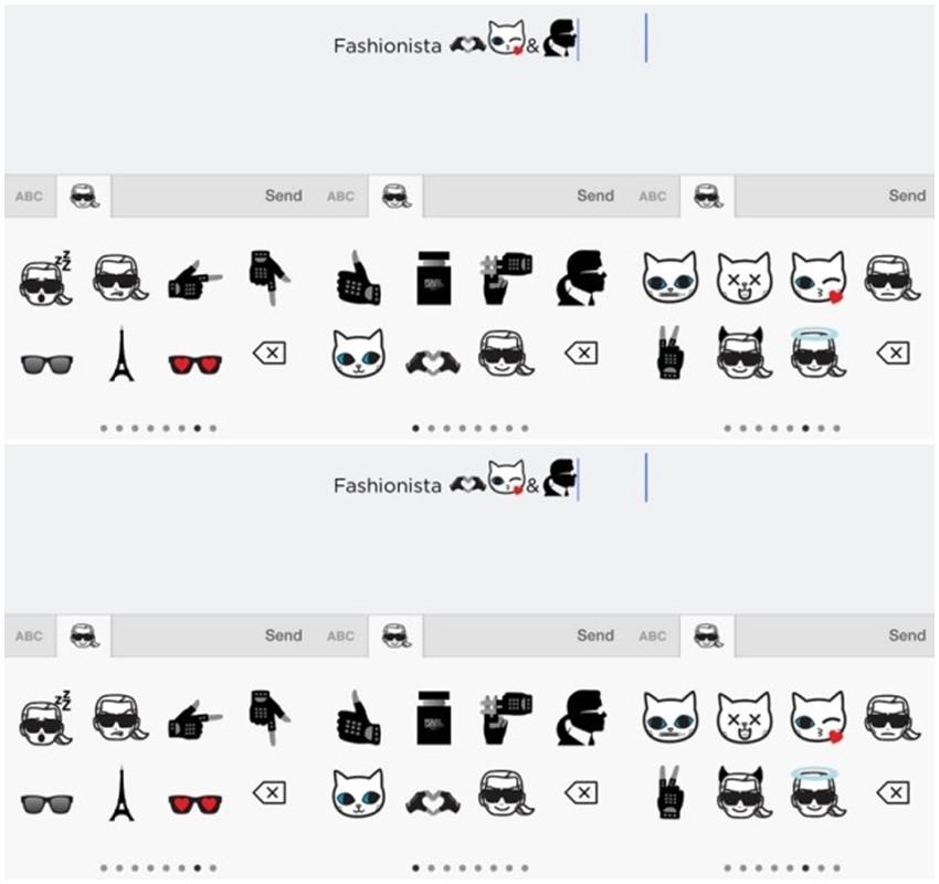 Izrazite se s Lagerfeldovim modnim emotikonima