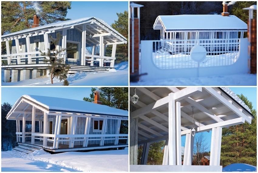 Idilična kuća za odmor na brdu pokraj Moskve ima samo 18 metara četvornih