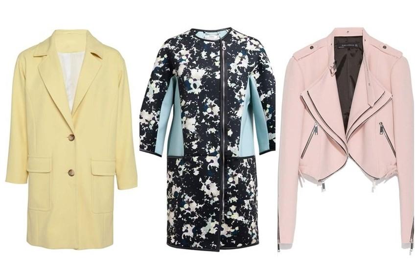 Trendi proljetne jakne i lagani kaputi dolaze u svjetlijim nijansama i odličnim printevima
