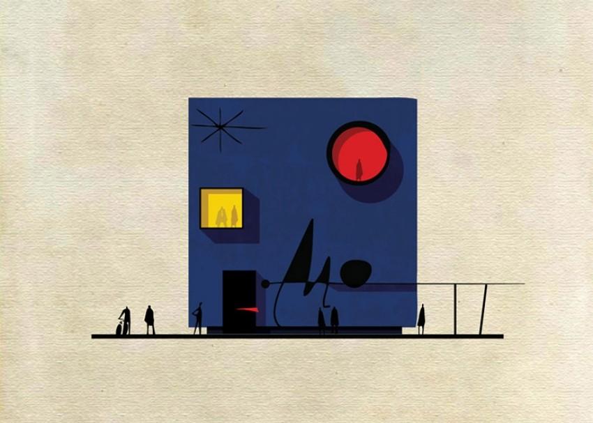 Kako bi izgledale zgrade da su ih radili veliki umjetnici