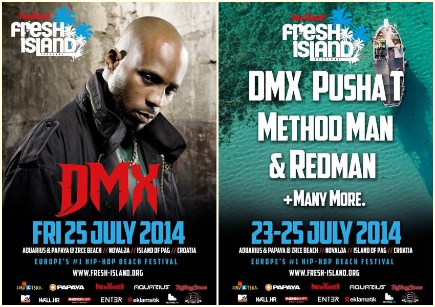 Kontroverzni reper DMX dolazi na Fresh Island Festival