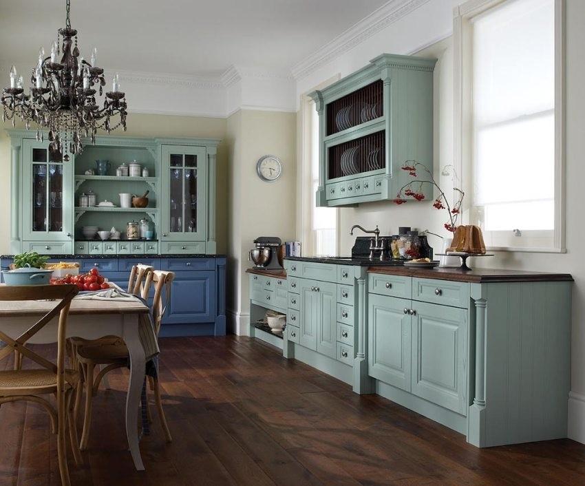 Vintage kuhinjski ormarići uvijek su odličan izbor