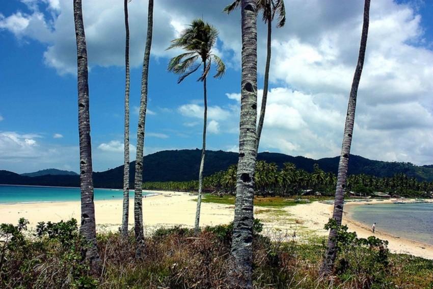 Plaža Nacpan i Calitang, El Nido, Filipini
