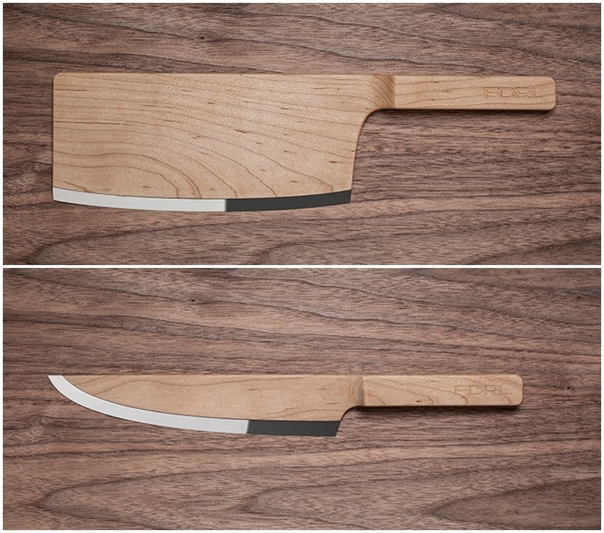 Spoj nespojivog: Elegantni drveni noževi Federal Inc.-a