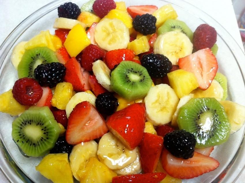 Voćna salata je lagani, zdravi i ukusni doručak