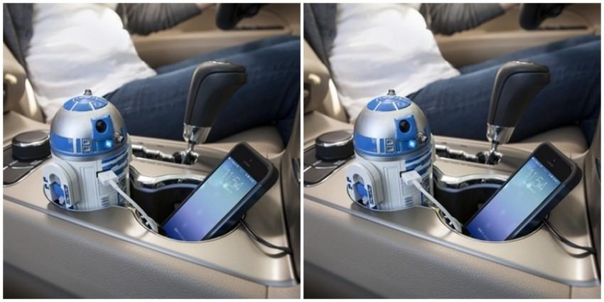 Najcool punjač na svijetu: R2D2 punjač za mobitel za auto