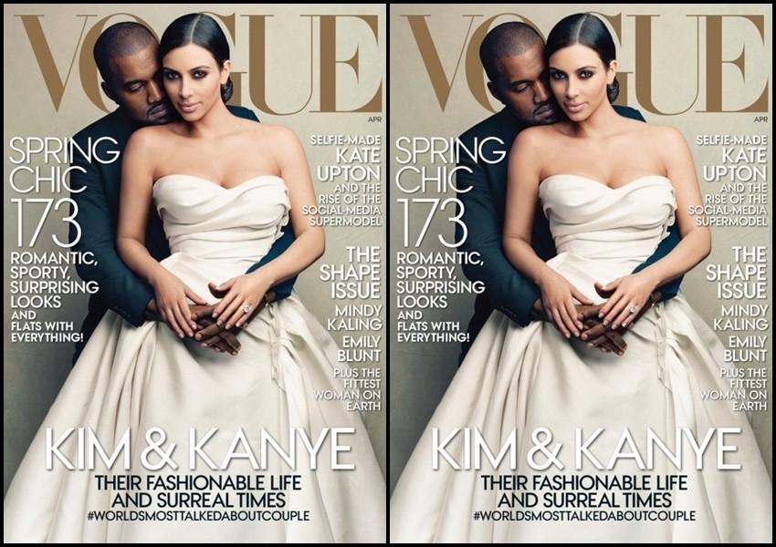 Kim Kardashian i Kanye West osvanuli na naslovnici Voguea