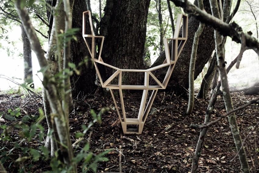 Inspiracija dizajnerima su bili šumski divlji jeleni