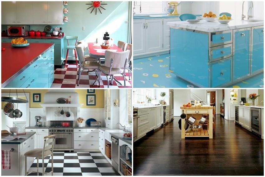 Trend obojenih podova može biti super rješenje za osvježenje kuhinje
