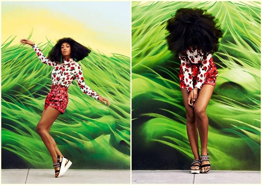 Pjevačica Solange zablistala u Harper's Bazaaru