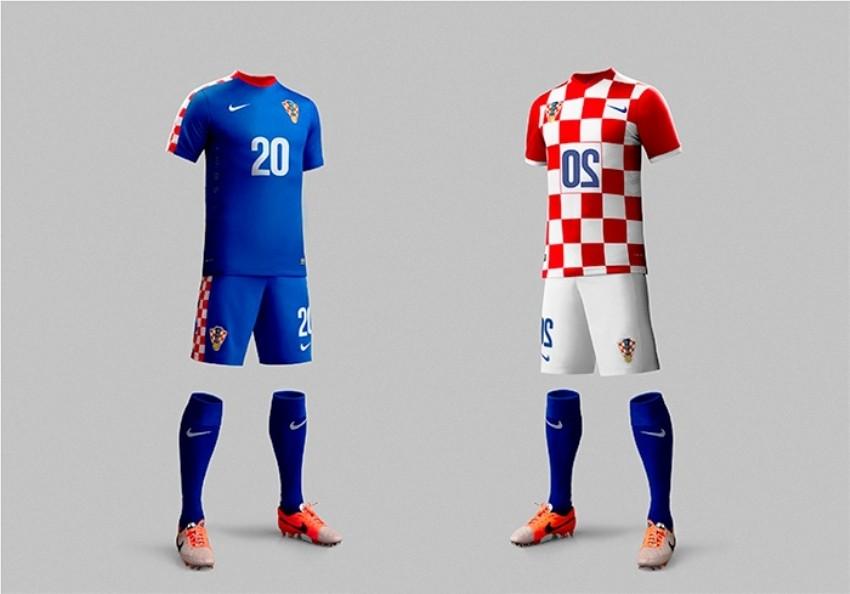 Nike predstavio najnoviji dres hrvatske nogometne reprezentacije!