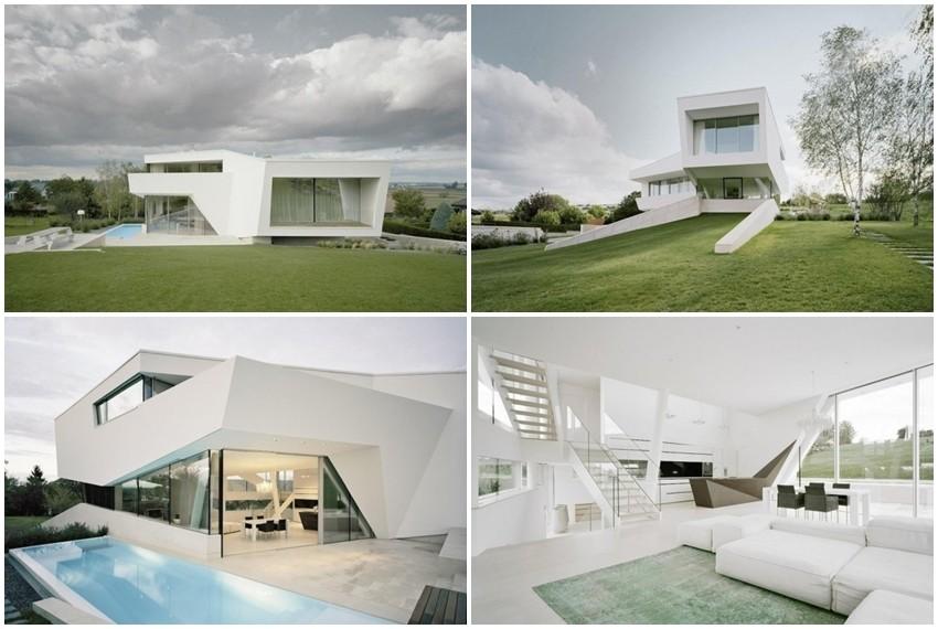 Futuristička vila nalazi se u malom selu nedaleko od Beča