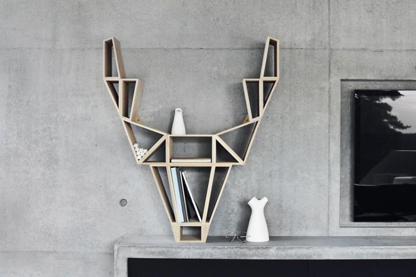 Police u obliku jelena mogu se uklopiti u svaki prostor