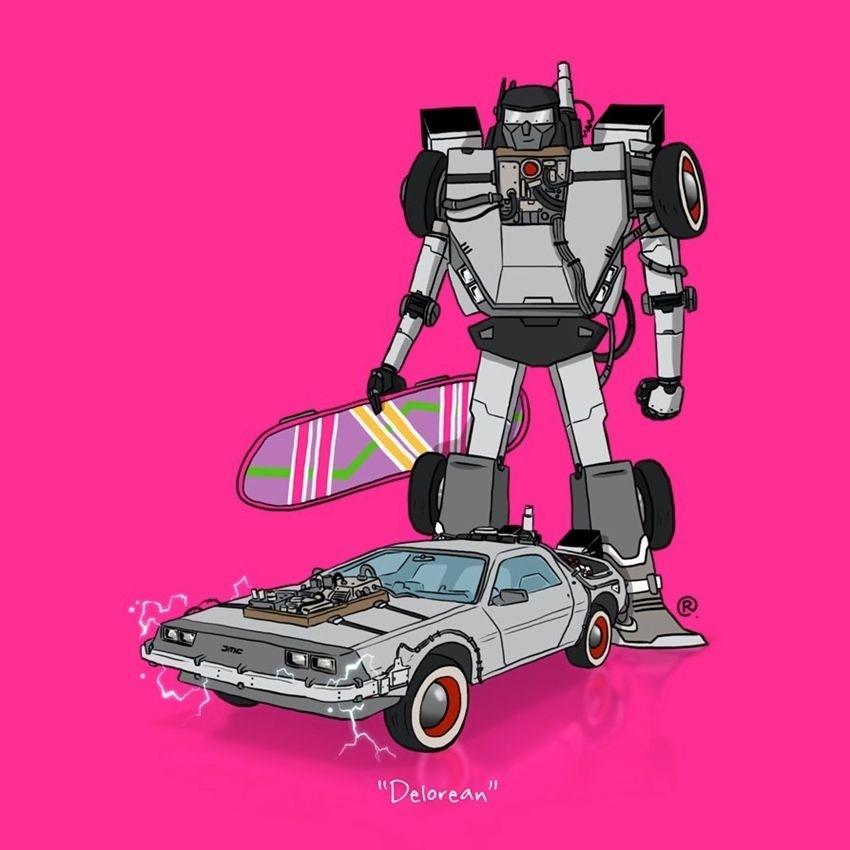 Kako izgledaju ikonični auti kao Transformeri?