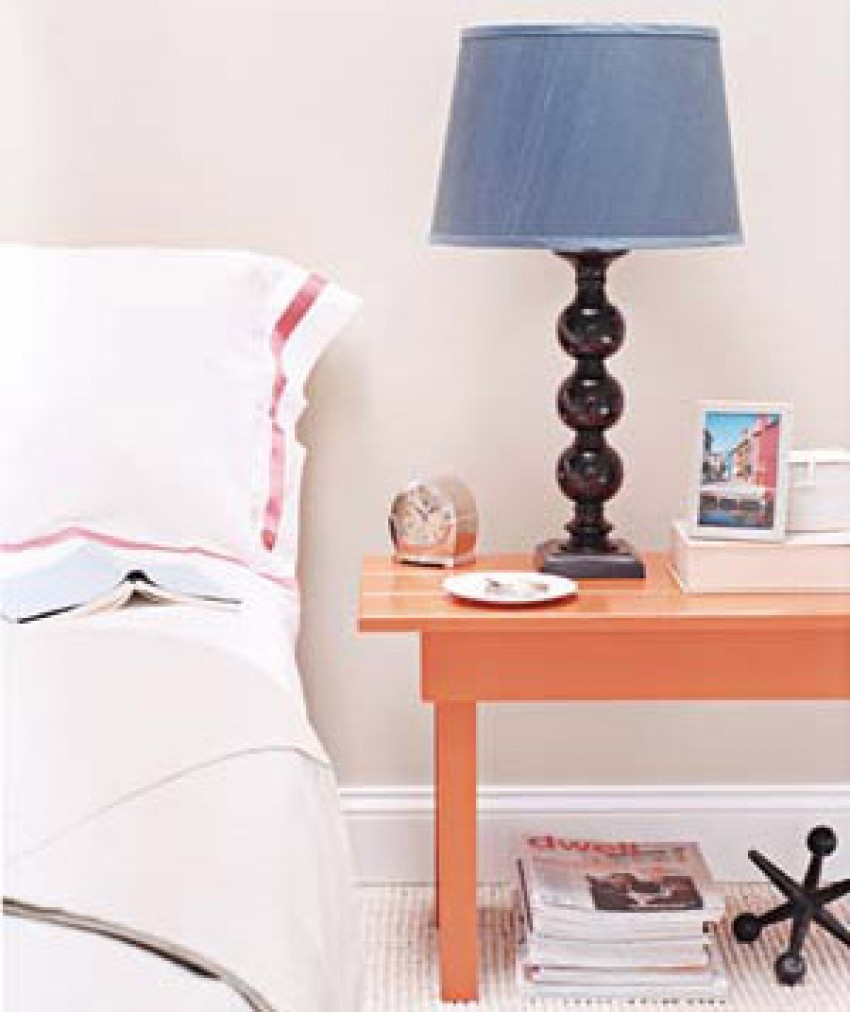 bedroom Decorating Tricks for Your Bedroom lamp bed 300