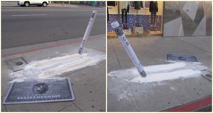 Snifajte street art umjetnika Plastic Jesusa