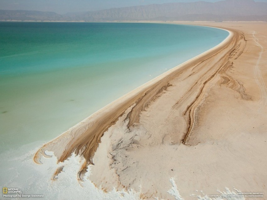 Jezero Assal na rogu Afrike