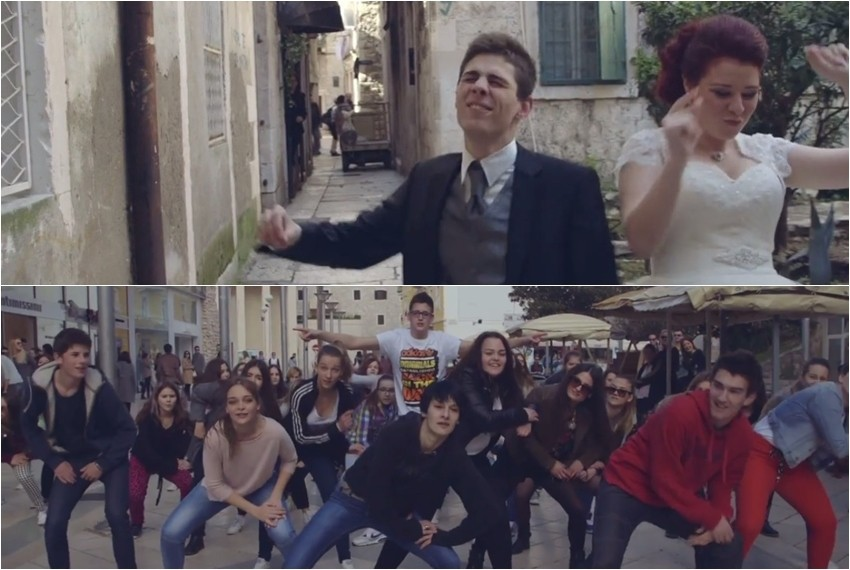 Splitska verzija spota Happy