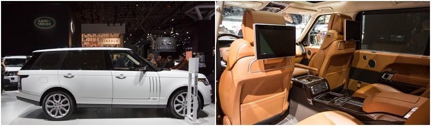 Land Rover Range Rover LWB: $185,000