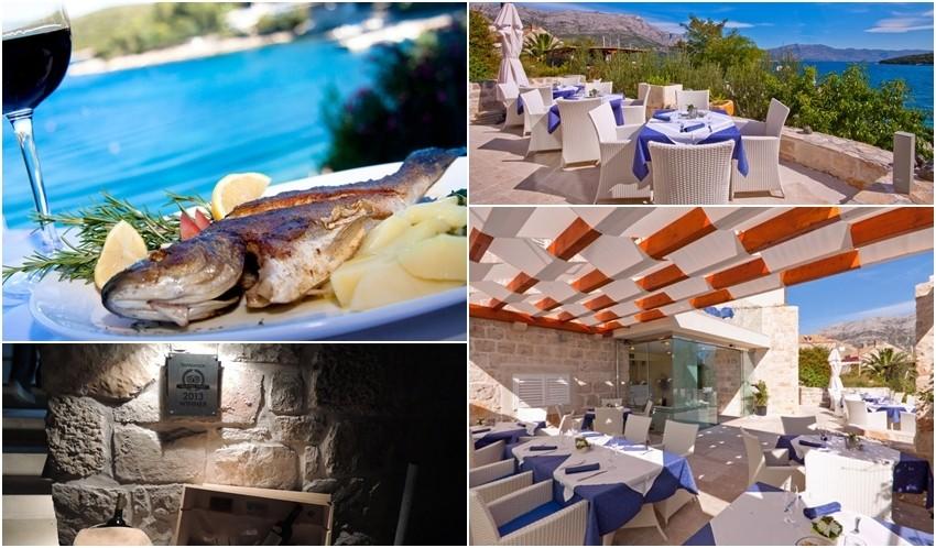Hotel Korsal, restoran Korčula