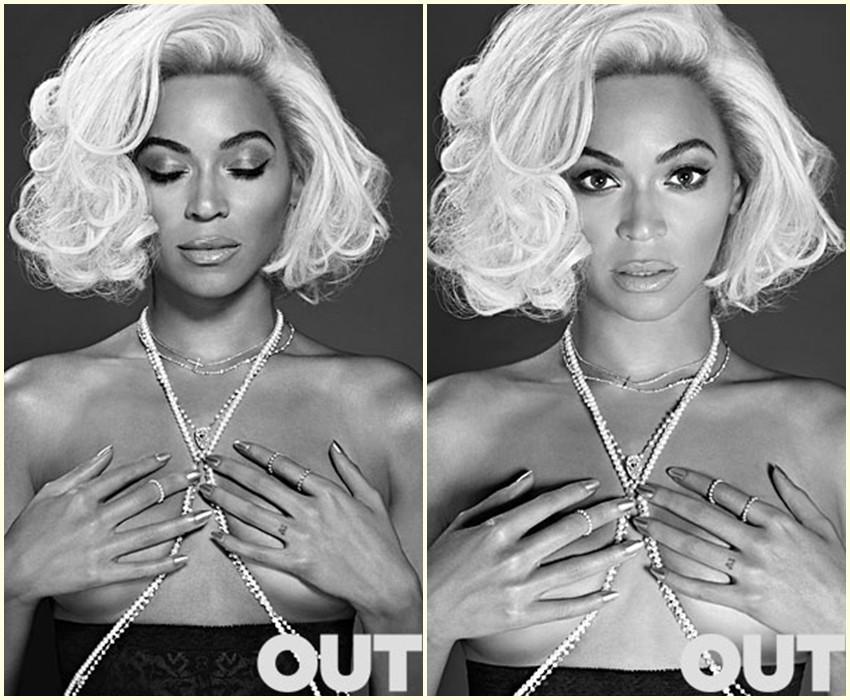 Beyonce kao moderna Marylin Monroe