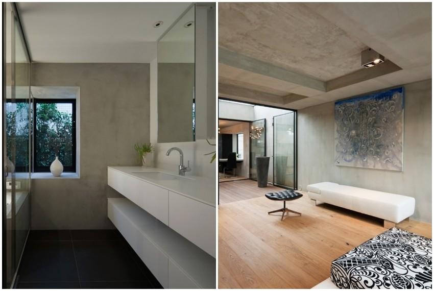 Minimalizam i pročišćeni dizajn dominiraju u cijelom stanu