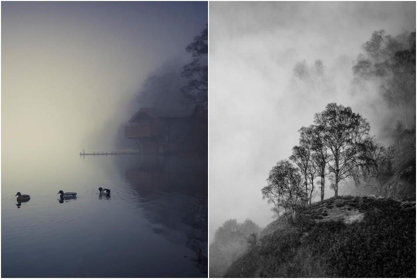 Littlejohnove fotografije karakterizira meditativni i smirujući ugođaj