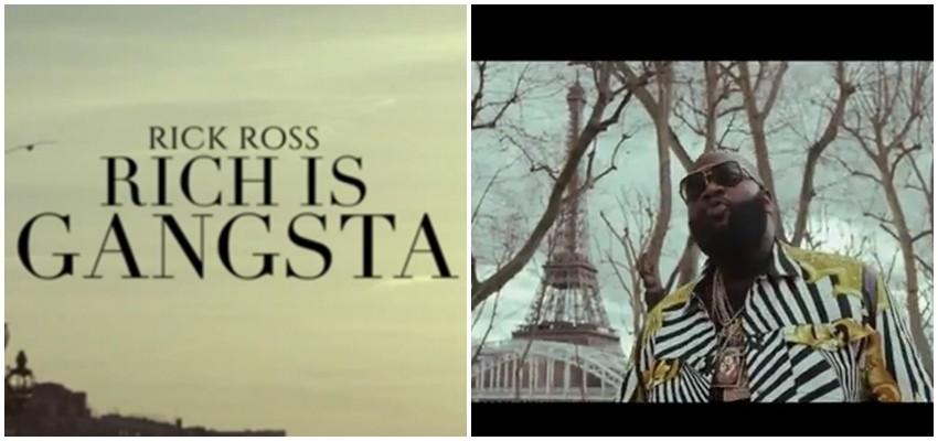 """Danas slušamo: """"Rich Is Gangsta"""", novu stvar repera Ricka Rossa"""