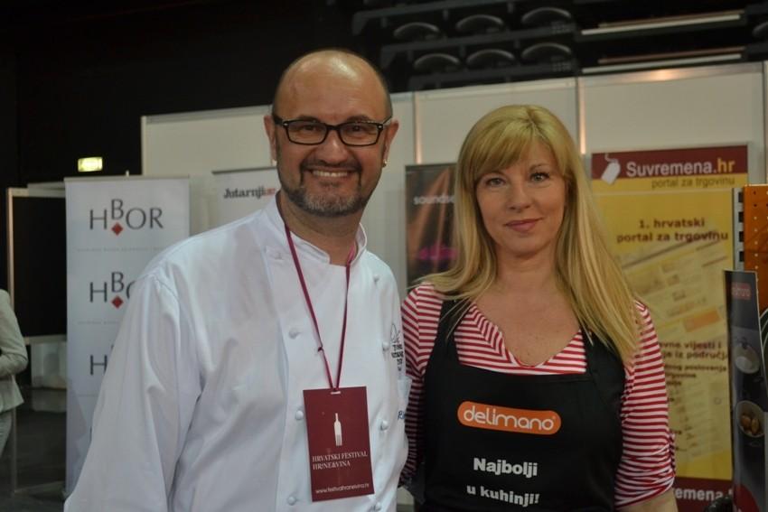 Suzy Josipović Redžepagić i chef Renato Rizzardi