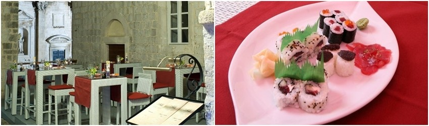 Oyster & Sushi bara