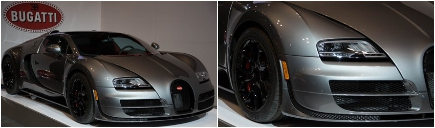 Bugatti Veyron: $2.5 million