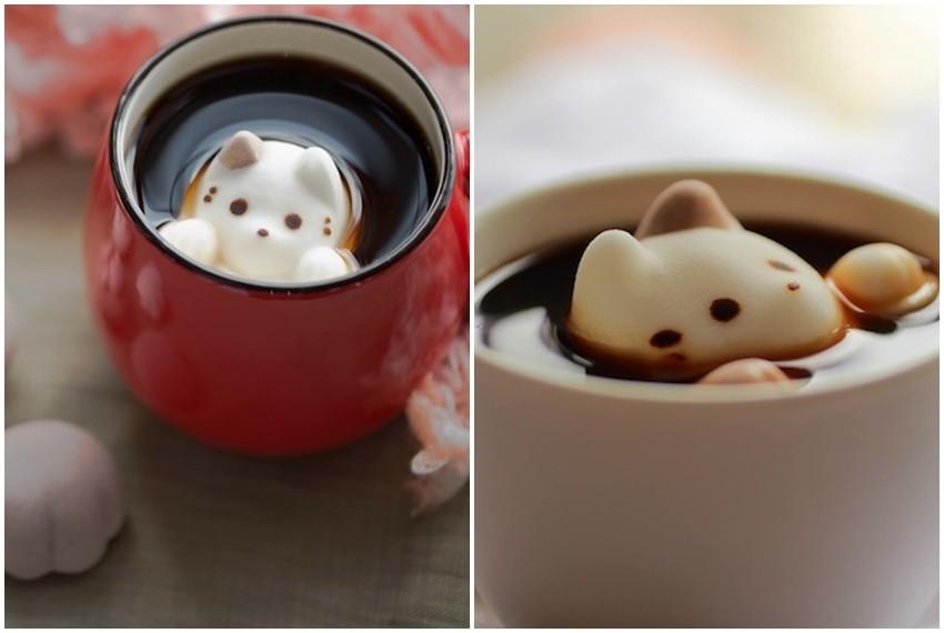 CafeCat, topljivi sljezovi kolačići